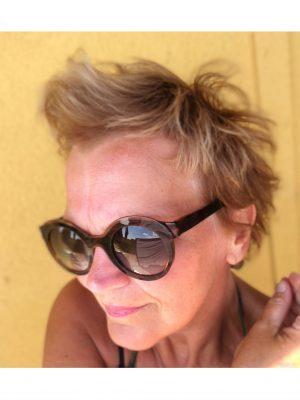 Min hårfarve efter 14 dage i solen