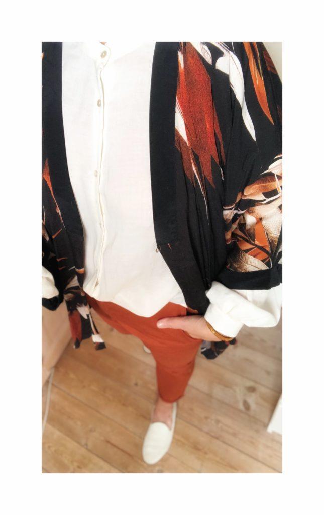 kimono styling