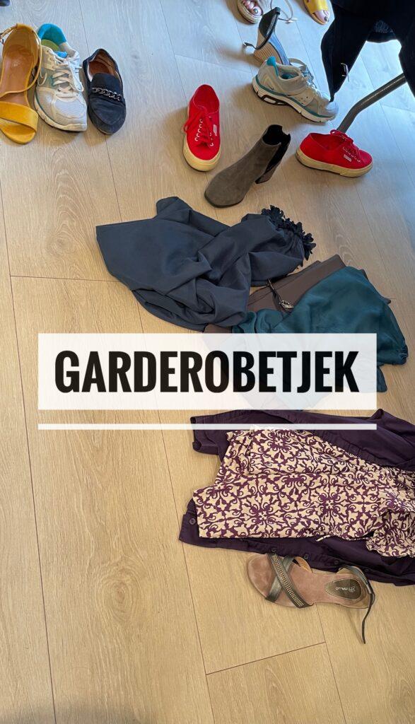 Garderobetjek og Shopping