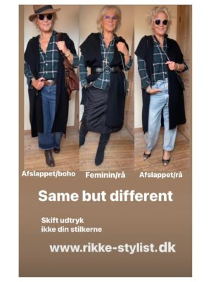 3 forskellige udtryk